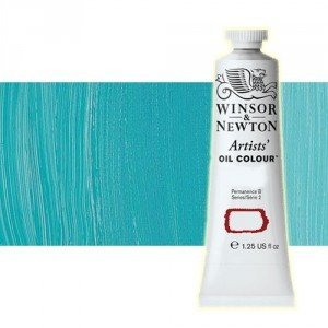 totenart-Óleo Winsor & Newton Artists color turquesa cobalto (37 ml)