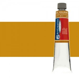 Totenart. Óleo ArtCreation color Ocre amarillo (200 ml)