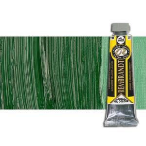 Óleo Rembrandt color Verde Cinabrio Oscuro (40 ml.)