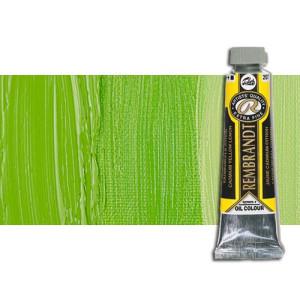 Óleo Rembrandt color Verde Amarillo Permanente (40 ml.)