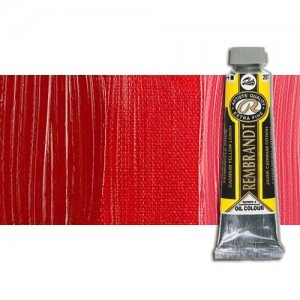 Óleo Rembrandt color Rojo Transparente Medio (40 ml.)