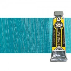 Óleo Rembrandt color Azul Turquesa (40 ml.)