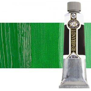 Totenart-Óleo Rembrandt color Verde Permanente Medio (150 ml.)