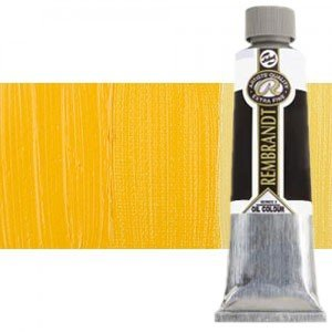 Totenart-Óleo Rembrandt color Amarillo Permanente Medio (150 ml.)