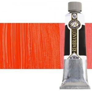 Totenart-Óleo Rembrandt color Rojo Permanente Claro (150 ml.)