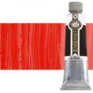 Totenart-Óleo Rembrandt color Rojo Permanente Medio (150 ml.)