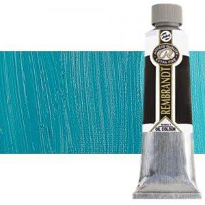 Totenart-Óleo Rembrandt color Azul Turquesa (150 ml.)