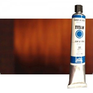 totenart-oleo-titan-extrafino-75-pardo-oxido-transparente-tubo-200-ml