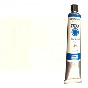 Óleo Titan extra fino color blanco zinc (200 ml)