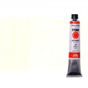 Óleo Titan extra fino color blanco zinc (60 ml)
