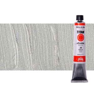 Óleo Titan extra fino color plata (60 ml)