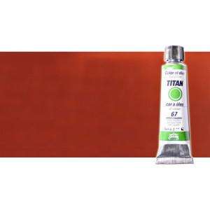 Óleo Titan extra fino color rojo inglés claro (20 ml)