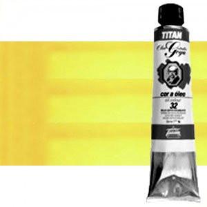 Totenart-Óleo Titan Goya color amarillo Goya limón, 200 ml.