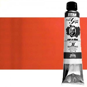 Totenart-Óleo Titan Goya color rojo Goya oscuro, 200 ml.