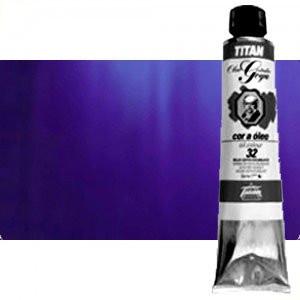 Totenart-Óleo Titan Goya color azul ultramar claro, 200 ml.