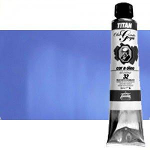 Totenart-Óleo Titan Goya color azul cian, 200 ml.