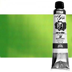 Totenart-Óleo Titan Goya color verde cinabrio, 200 ml.