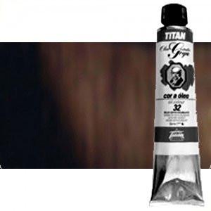 Totenart-Óleo Titan Goya color negro marfil, 200 ml.