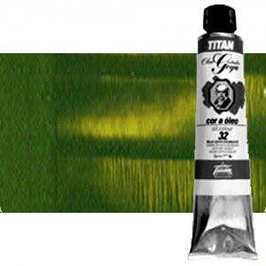 Ttoenart-Óleo Titan Goya color verde cinabrio tostado, 200 ml.