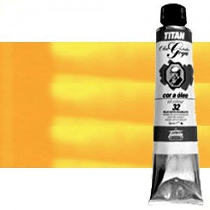 Totenart-Óleo Titan Goya color amarillo real , 200 ml.