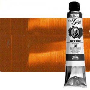 Totenart-Óleo Titan Goya color tierra siena natural, 200 ml.