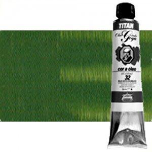 Totenart-Óleo Titan Goya color tierra verde, 200 ml.