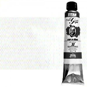Totenart-Óleo Titan Goya color blanco zinc , 200 ml.