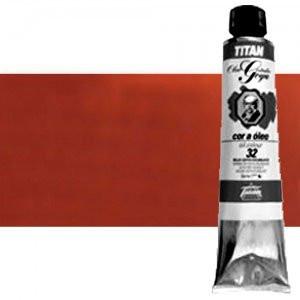 Totenart-Óleo Titan Goya color rojo inglés claro, 200 ml.