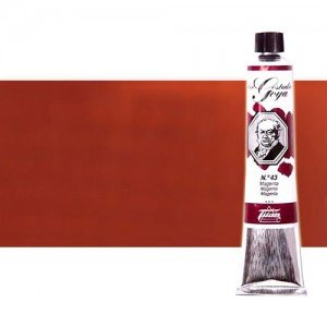 Óleo Titan Goya color rojo inglés claro (60 ml)
