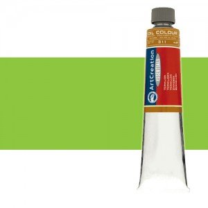 Totenart. Óleo ArtCreation color Verde amarillento (200 ml)