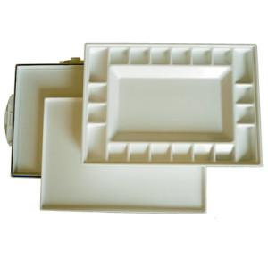 Paleta hermetica de plastico Estudio (34x25x4 cm)