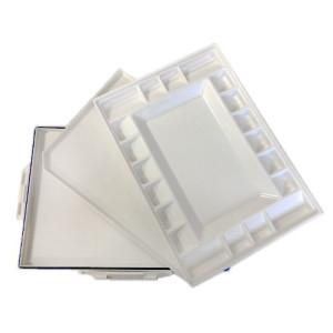 totenart-Paleta hermetica de plastico Estudio (34x25x4 cm)
