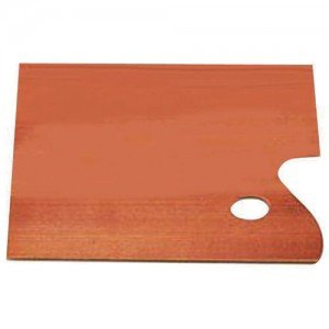 totenart-Paleta rectangular de madera (40x50 cm)