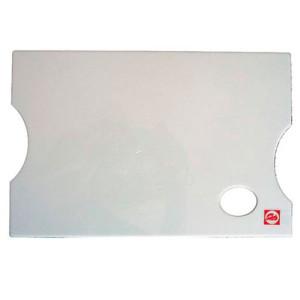 totenart-Paleta rectangular de plastico lisa Talens (21x30 cm)