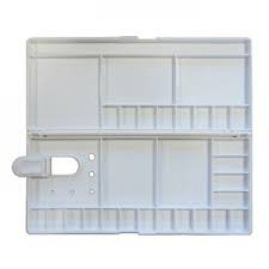 totenart-Paleta caja rectangular de plastico 30x14 (27) (29p)