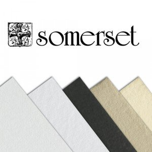 totenart-Papel Somerset Textured Soft White, 300 gr., 76x112 cm.