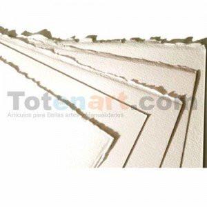 totenart-Papel Velin D Arches, 250 gr., 50x65 cm., Blanco