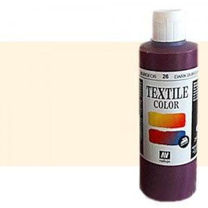 Pintura Textil Vallejo Crema, 200 ml.
