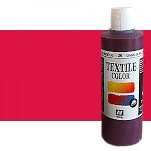 totenart-Pintura Textil Vallejo Bermellon, 200 ml.