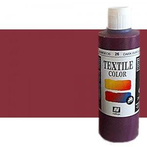 totenart-Pintura Textil Vallejo Burdeos, 200 ml.