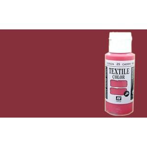Material manualidades pintura textil vallejo burdeos 60 ml for Pintura color lino
