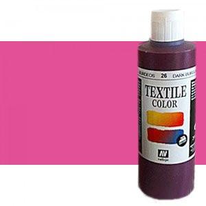 totenart-Pintura Textil Vallejo Rosa Bengala, 200 ml.