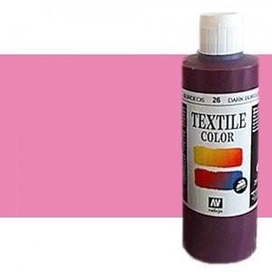 totenart-Pintura Textil Vallejo Orquidea, 200 ml.