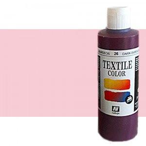 totenart-Pintura Textil Vallejo Rosa Claro, 200 ml.
