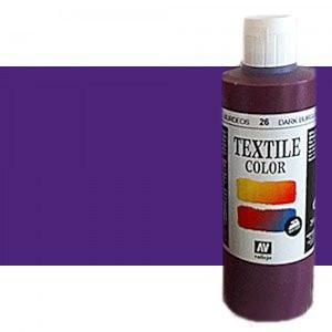 totenart-Pintura Textil Vallejo Violeta Parma, 200 ml.