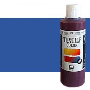 totenart-Pintura Textil Vallejo Azul, 200 ml.