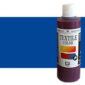 totenart-Pintura Textil Vallejo Azul Cobalto, 200 ml.
