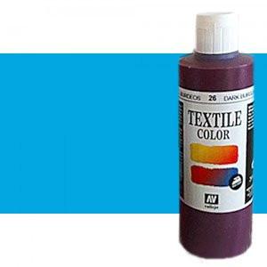 Pintura Textil Vallejo Azul Oriente, 200 ml.