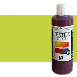 totenart-Pintura Textil Vallejo Verde Luz, 60 ml.