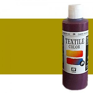 totenart-Pintura Textil Vallejo Verde Oro, 200 ml.